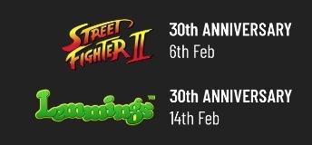 Les anniversaires gaming en 2021